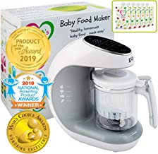 Baby Food Maker | Baby Food Processor Blender Grinder Steamer | Cooks & Blends..