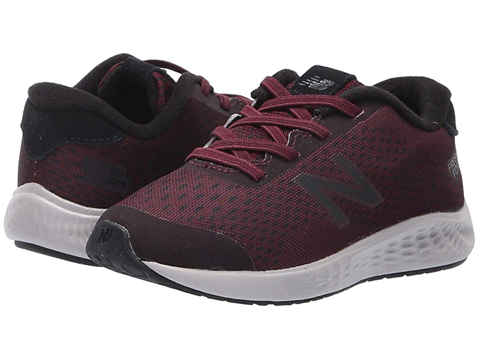 New Balance Kids KVARNv1 (Infant/Toddler) (NB Burgundy/Black) Boys Shoes