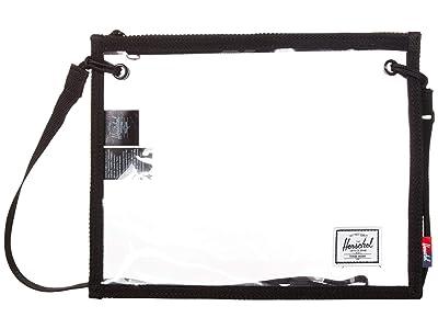 Herschel Supply Co. Alder (Black/Clear) Cross Body Handbags