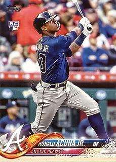 2018 Topps Update Baseball #US250 Ronald Acuna Jr. Rookie Card