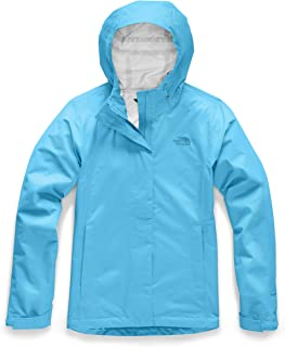 The North Face Women's Venture 2 Jacket, Turquoise Blue, 3XL