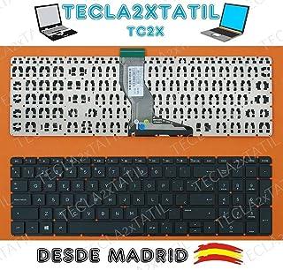 TECLA2XTATIL TC2X Teclado para HP Pavilion 15-bs064ng 15-bs064nl 15-bs064nm 15-bs064ns español SIN Marco