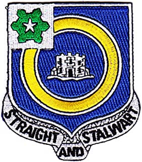 41st Infantry Regiment Patch Straight And Stalwart