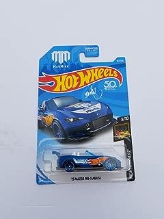 Hot Wheels 15 Mazda MX-5 Miata Convertible 167/365 Blue 3/10 Series.