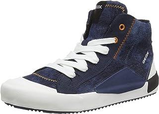 Geox J Alonisso Boy C, Sneaker a Collo Alto Bambino