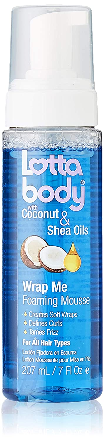 Max 50% OFF Lotta Body Wrap Alternative dealer Me Foaming Mousse with Coconut 7 Oil O and Shea
