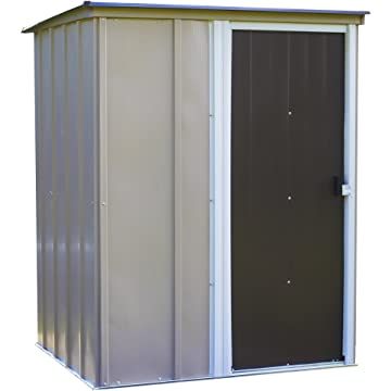 Arrow Shed BW54-A Brentwood 5-Feet x 4-Feet Steel Storage Shed