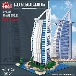 YOUPIN Diamond Architecture Model Building Blocks Taj Mahal Big Ben London Paris Harvard University Micro Construction Toy...