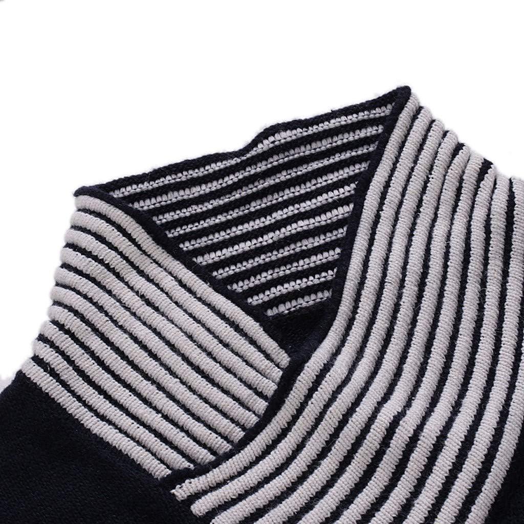 Men's Pullover Sweater Long Sleeve Crewneck Warm Winter Knitwear Outwear Top