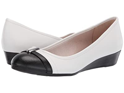 LifeStride Frances (Black/White Vinci) Women