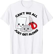 Rock Paper Scissors Shirt Can't We All Just Get Along