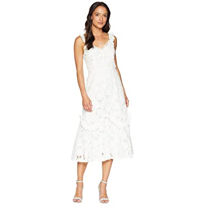 Rebecca Taylor Sleeveless Adrianna Dress (Snow) Women