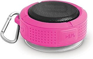 Bower Rugged Bluetooth Speaker, BI-20BTRGPK -Pink