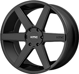 KMC DISTRICT TRUCK SATIN BLACK DISTRICT TRUCK 22x9 6x139.70 SATIN BLACK (30 mm) WHEEL RIM