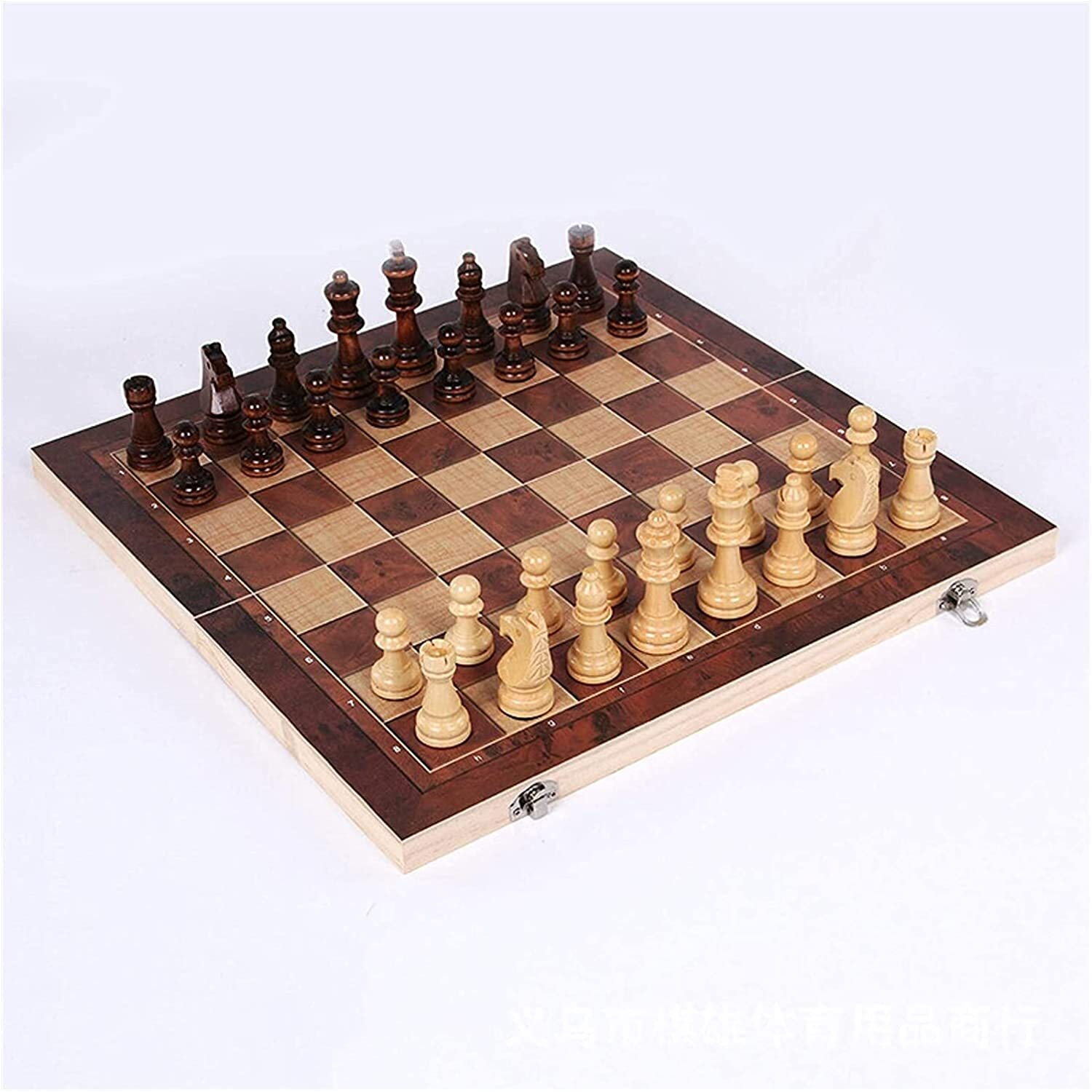 Our shop OFFers the best service MTCWD Wooden Chess Set Magnetic Magn Nippon regular agency Travel Foldable Board