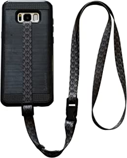 foneleash 3 in 1 Universal Cell Phone Lanyard Neck Wrist and Hand Strap Tether (Lucky Spade 2.0)