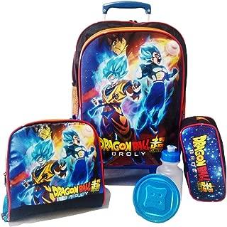 Kit Mochila Infantil Dragon Ball Super Broly