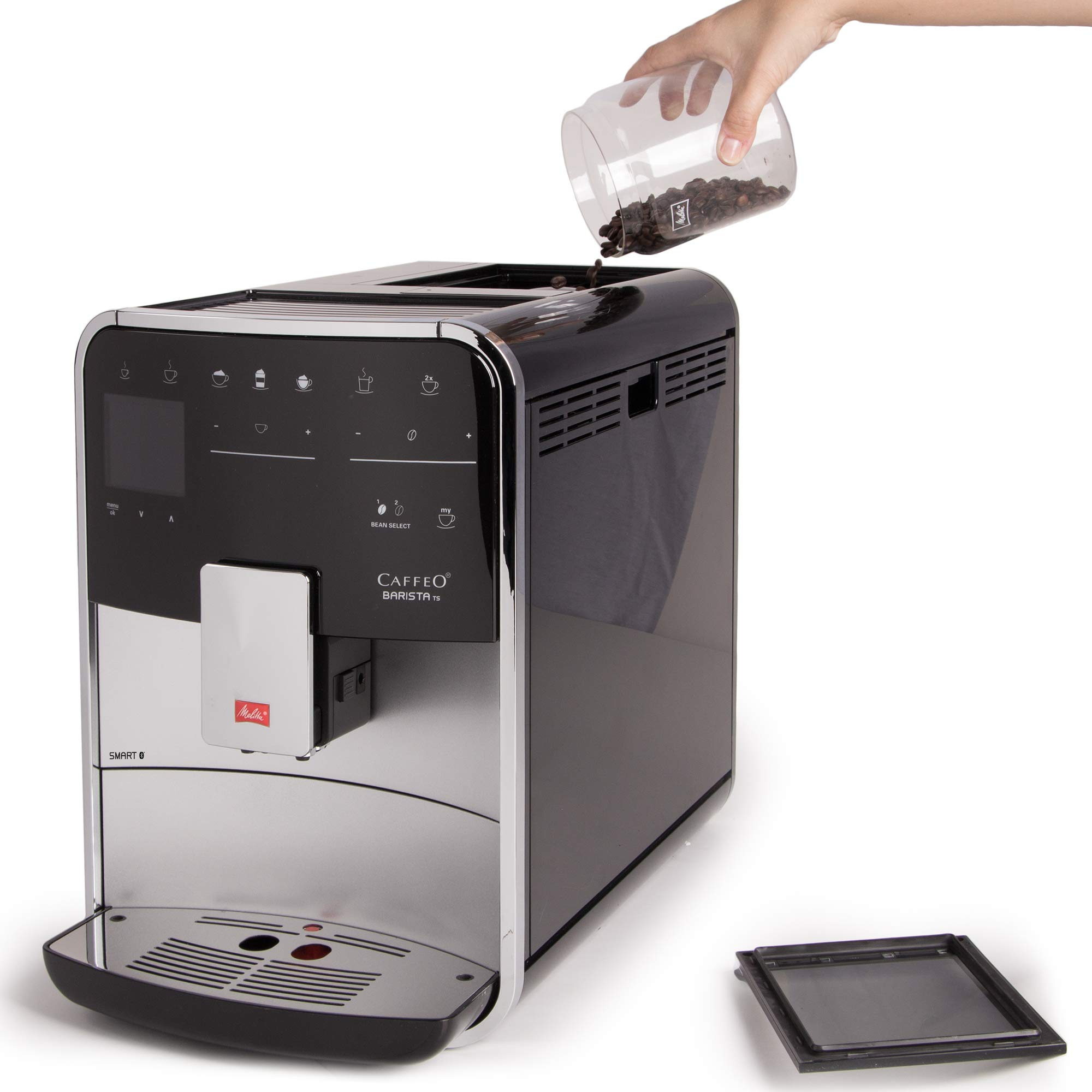 Melitta F850-101 Máquina de Café Automática Caffeo Barista TS ...