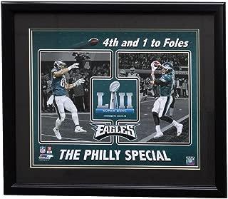 Trey Burton Nick Foles Framed 16x20 Eagles Super Bowl 52 Philly Special Photo
