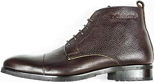 Helstons Heritage - botas de Piel anilina marrón, marrón, 44