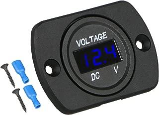 Best voltmeter 12v battery Reviews
