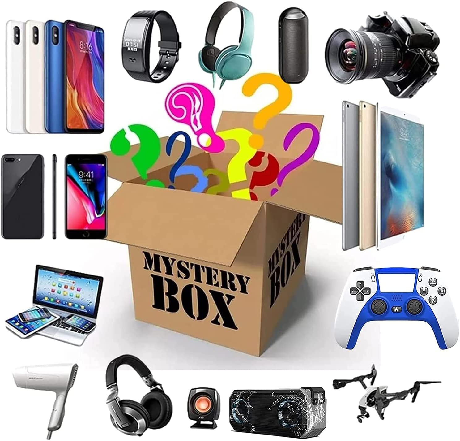Lucky Box Mystery Boxes New Free Shipping Indianapolis Mall Super Cost Electronic Blind