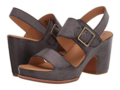 Kork-Ease San Carlos (Grey Full Grain Leather) High Heels