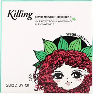 Some By Mi, Killing Cover Moisture Cushion 2.0, SPF 50+/PA++++, 23 Natural Beige, 0.52 oz (15 g)