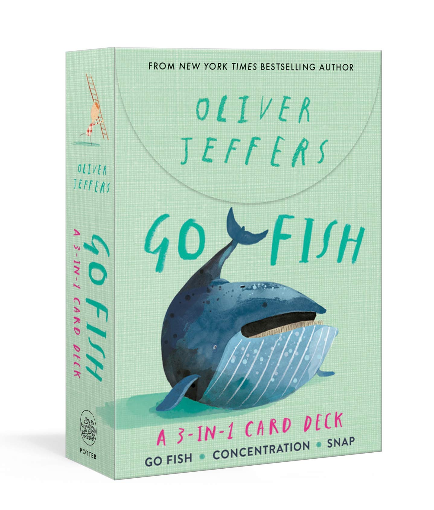 Download Go Fish: A 3-In-1 Card Deck Go Fish, Concentration, Snap 