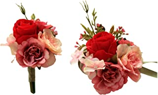 Best red and black corsage and boutonniere Reviews