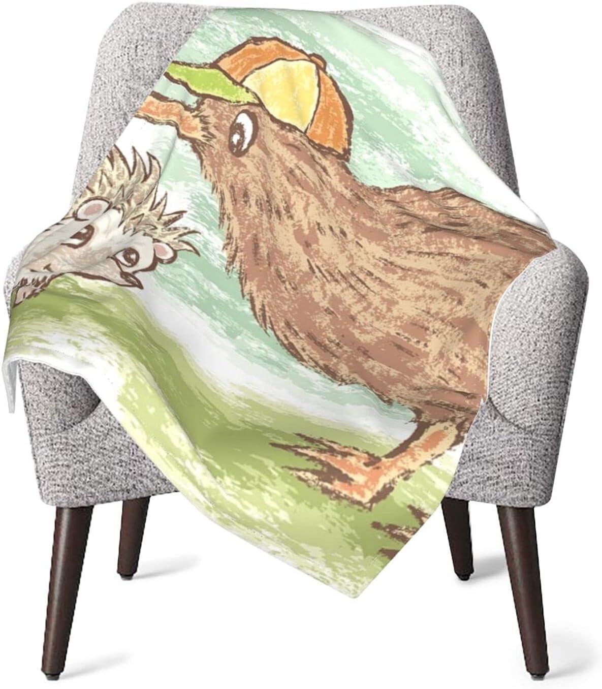 Kiwi Bird and Hedgehog Boys Girls 40 x Max 41% OFF 30 Blanket List price Inche Baby