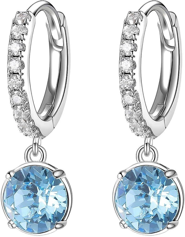 Brosway affinity orecchini per donna in ottone rodiato e zirconi BFF133 1