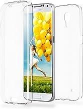 MoEx Funda Protectora 360º de Silicona Compatible con Samsung Galaxy S4 | Transparente, Transparent