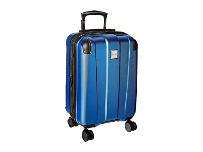 Kenneth Cole Reaction 20 Continuum Lightweight Hardside Expandable 8-Wheel Spinner Carry-On Luggage (Vivid Blue) Luggage