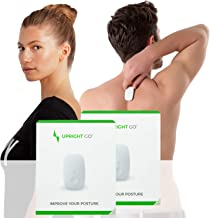Upright GO Original Double Pack | Posture Trainer and Corrector for Back | Strapless, Discrete and Easy to Use | Complete with App and Training Plan | Back Health Benefits and Confidence Builder