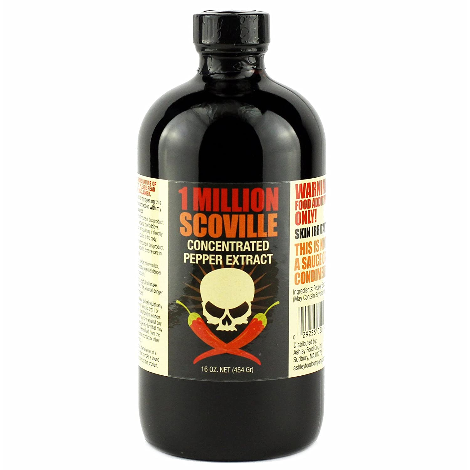 1 Million Scoville Max 49% OFF Pepper Extract 16 Sale special price oz