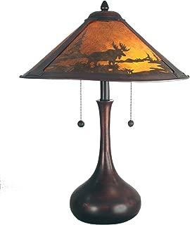 mica shade table lamp