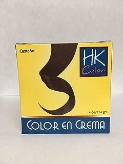 HK Colors Semi Permanent Hair Dye, Brunet, 4 oz/114 grs