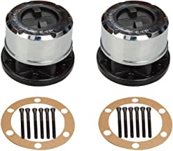 yjracing Pair Set of 2 28 Tooth Manual Locking Hubs Fit for Nissan Frontier Xterra Titan D21 Pathfinder 4WD