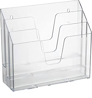 Best Acrimet Horizontal Triple File Folder Organizer (Clear Crystal Color) Review