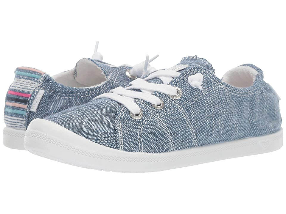 Roxy Kids Bayshore III (Little Kid/Big Kid) (Chambray) Girl