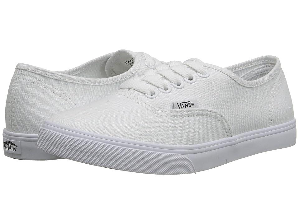 da174c04db0 Vans Authentictm Lo Pro (True White True White) Skate Shoes