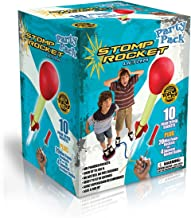 The Original Stomp Rocket Ultra Rocket Party Pack, 30 Rocket Combo - Great Outdoor Rocket Toy Gift for Boys and Girls Ages...