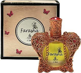 KHADLAJ Farasha Concentrated Perfume Oil For Unisex, 28 ml
