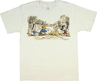 Disneyland Disney World Main Street USA Classic Character Men's T-Shirt