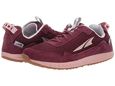 Altra Footwear Kokiri (Little Kid/Big Kid) (Dark Port/Light Rose) Shoes