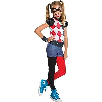 DC Comics - Disfraz de Harley Quinn classic para niña, infantil ...
