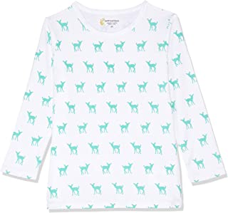 Petit Bamboo Baby Long Sleeve Top, Deer Green