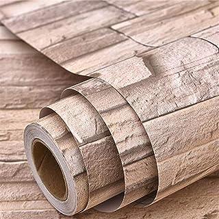الحد الأدنى الحديث تنقش لفة خلفية Stone Pattern Brick Wallpaper Stickers Home Decor for Living Room Bedroom Waterproof PVC...