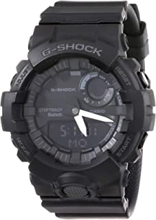 Casio G-Shock Men's Black Dial Resin Band Watch - GBA-800-1ADR
